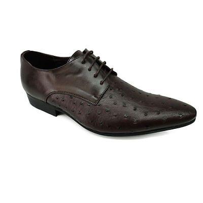 Herren Schuhe, Braun, mit Narben, extravagant in Gr. 39, 41,42
