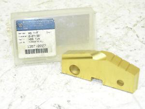 TiN Coated 435T-0228 Spade Drill Insert Series GEN2 T-A High Speed Steel