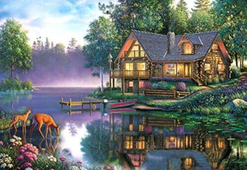 Buffalo Games Kim Norlien: Cabin Fever - 2000 Piece Jigsaw Puzzle by Buffalo Gam