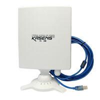 High Power Kasens N9600 6600MW 150Mbps USB Wireless Wifi Adapter 80dbi Antenna