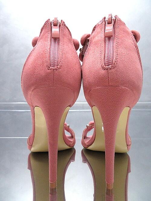 HOHE Pumps Luxus Damen Pink O50 Classic Sandalen Schuhe Pink Damen High Heels Rosa 39 571e32