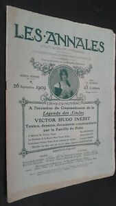 Revista Dibujada Las Anales 26 Septiembre 1909 N º 1370 Politica Y Literaria