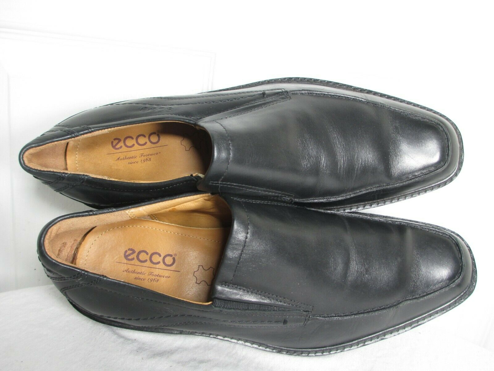 ECCO ECCO ECCO MEN'S HOLTON APRON TOE SLIP ON LOAFERS schwarz Größe EU 44 US 11 9e41c8