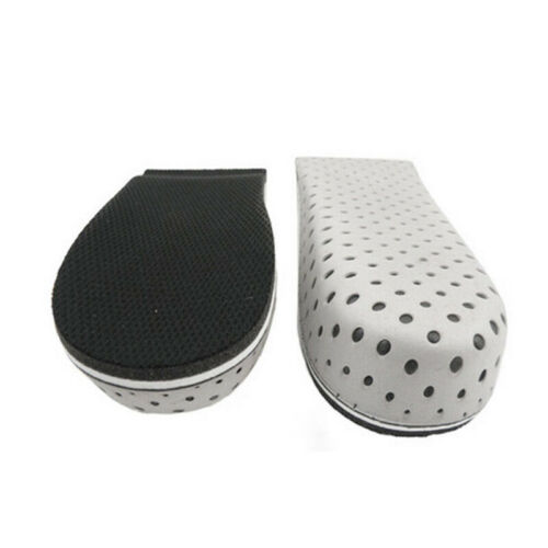 Invisible Hight Increase Shoe Pad Feet Cushion Heel Cup Elastic Care Half Insole