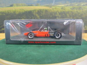 SPARK-Brabham-BT24-Monaco-GP-1969-Silvio-Moser-Orange-No17-1-43-S5267
