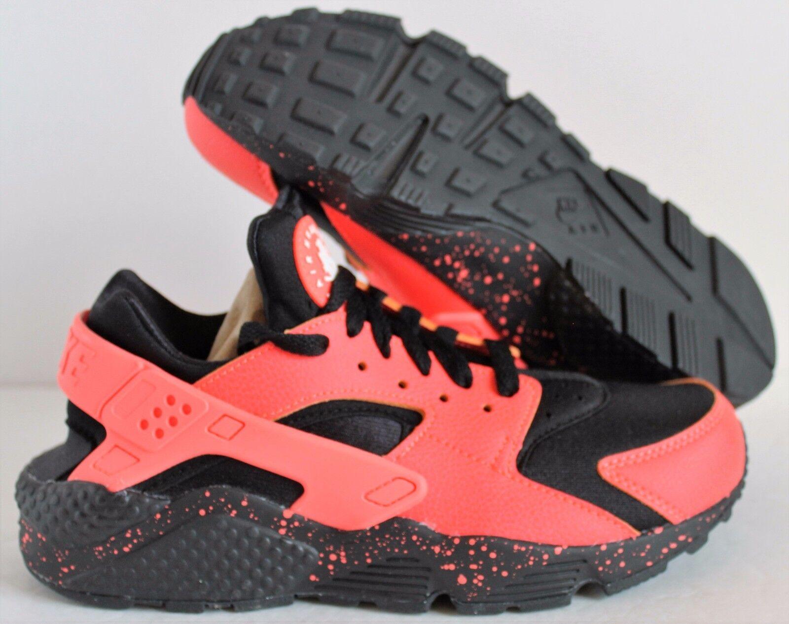 Nike femmes Huarache Premium ID Hot Lava- Noir SZ 7 [777331-994]