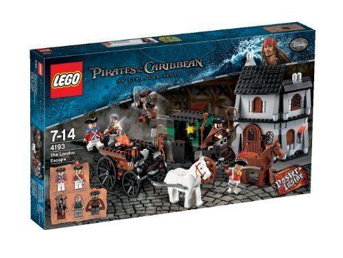 Sellado Lego Piratas Del Caribe 4193 el Escape De Londres Nuevo Envío gratuito