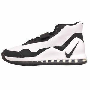 Nike Air Force Max Basketball Mens Shoes White Black AR0974-101 | eBay