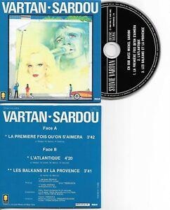 CD SINGLE  Sylvie VARTAN & Michel Sardou La Premiere Fois Qu'on S'aimera 3 tr