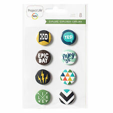 FLAIR BADGES scrapbooking 380616 8 Becky Higgins Project Life EXPLORE EDITION