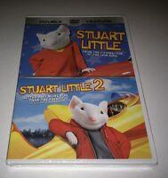 Stuart Little/stuart Little 2 (dvd, 2002) Geena Davis Hugh Laurie new