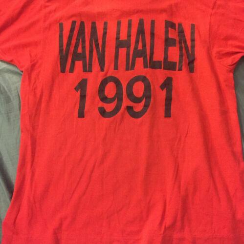 vintage van halen concert t-shirt