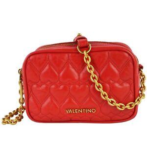 Valentino o04 Damen Leder Umhängetasche Rot Vlbp2fo04 Schultertasche Miami 80wOPkXn