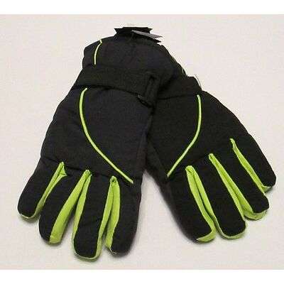BOYS SKI GLOVES 20* THERMAL INSULATION CHILDRENS WINTER WARM LINED WATERPROOF