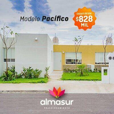 Casa en Venta en Almasur, Fracc. del Sur, 2 recámaras.