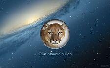 Apple OSX Mountain Lion 10.8 Reinstall/Upgrade/Repair