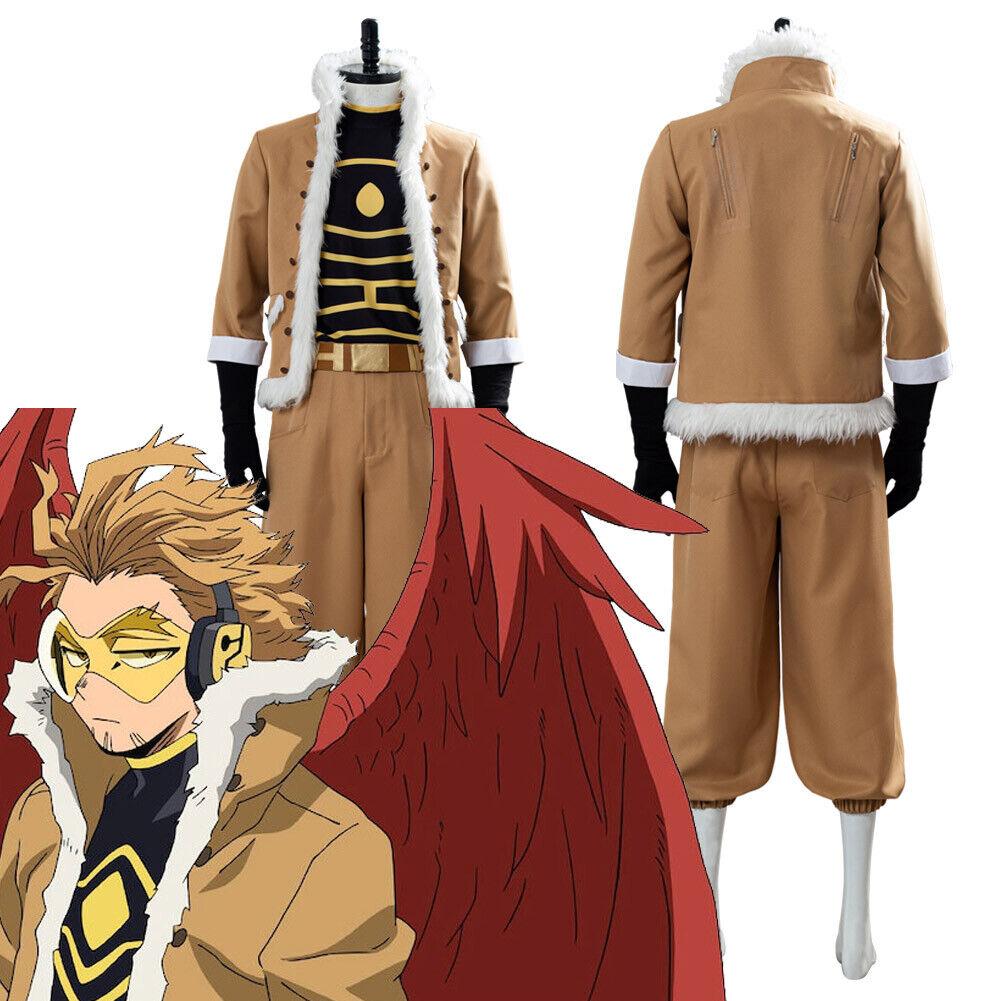 My Hero Academia Keigo Takami/Hawks Heros Rising Cosplay Costume Outfit