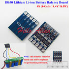 4S 14.4V 16.8V Balance Board for 18650 Li-ion Lithium Battery Protection Board