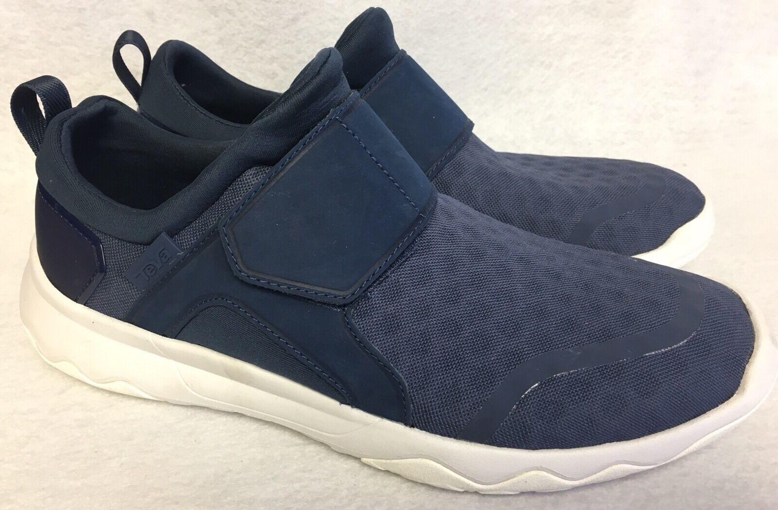 Teva Arrowood Swift resbalón en el zapato de senderismo Textil Azul Marino Para Hombres 1017171 Tallas Moda