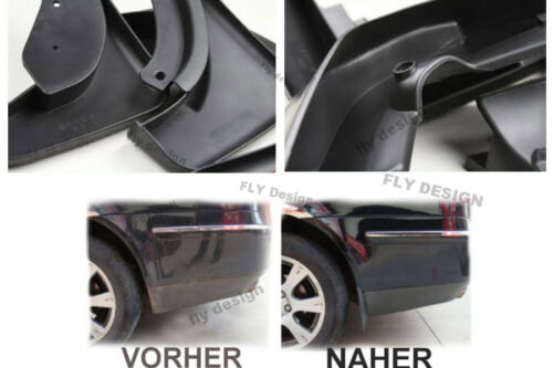 PEUGEOT 206 1998-2009 MUD Aletas Salpicadura GUARDS FENDER ALETAS GUARDABARROS