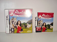 JEU NINTENDO DS DS LITE DSI XL - REAL STORIES MISSION EQUITATION COMPLET