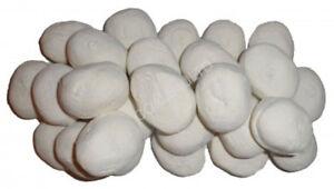 10 Blanc Le Gaz De Remplacement Pebbles Charbons Pierres 60 Mm Living Flame Made In Uk-afficher Le Titre D'origine Bonne RéPutation Sur Le Monde