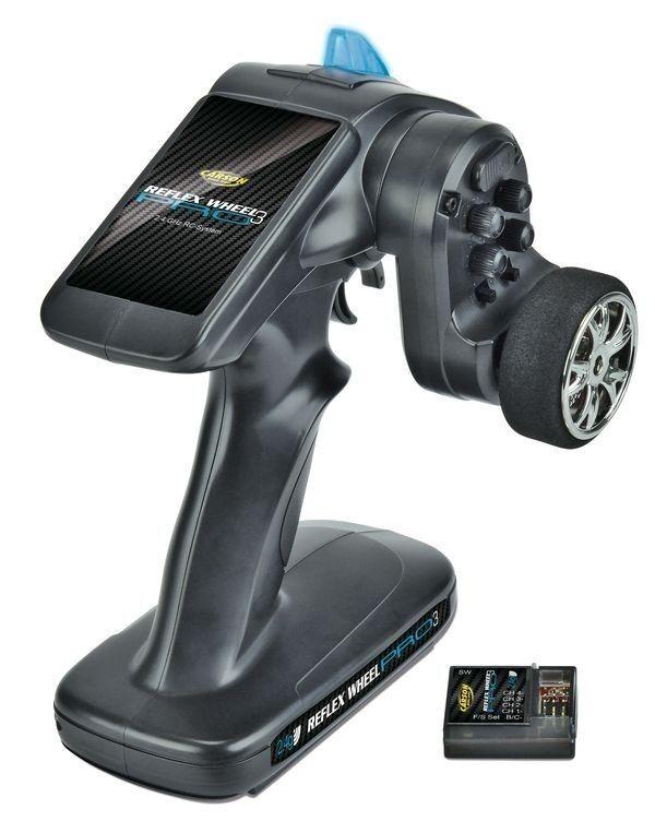Carson 500500052 Reflex Wheel Pro III 2.4 GHz 11.1V - Neu   OVP