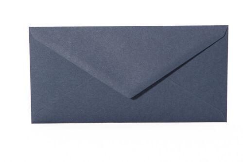 120g 100  Briefumschläge Din lang 11x22 cm Dreieckslasche Farbe frei wählbar