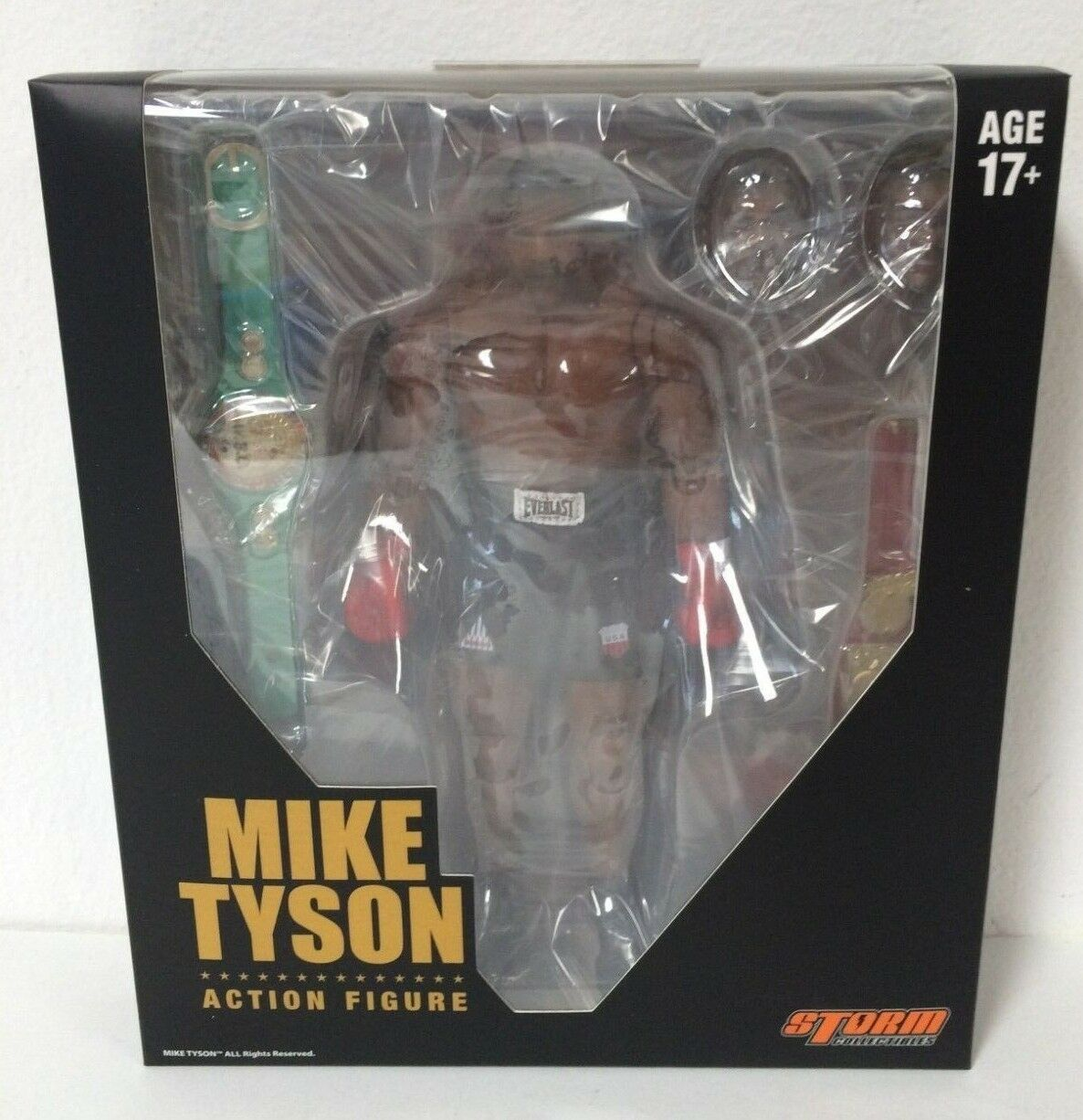 100% AUTHENTIC Storm Collectibles Mike Tyson 1 12 Scale  Action Figure US SELLER  vous rendre satisfait