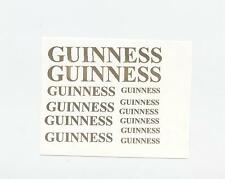 *12 x metallic gold  GUINNESS RELATED DECAL FOR you code 3 diecast models