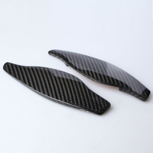 Audi Real Carbon Fibre Paddle Shifter Extensions for RS3 S3 RS4 RS5 RS6 S4 S5 R8