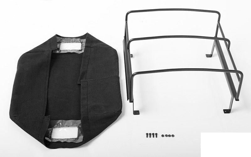 Letto soft top con gabbia RC4WD Mojave II quattro  porta Nero VVV-C0392 LWB cche RC  goditi il 50% di sconto