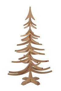 Albero Di Natale In Legno.Dettagli Su Albero Di Natale In Legno Di Abete Fatto In Italia Tinta Naturale Woodidea 1 Mt