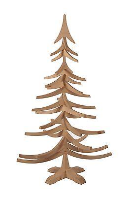 Albero Di Natale In Legno.Albero Di Natale In Legno Di Abete Fatto In Italia Tinta Naturale Woodidea 1 Mt Ebay