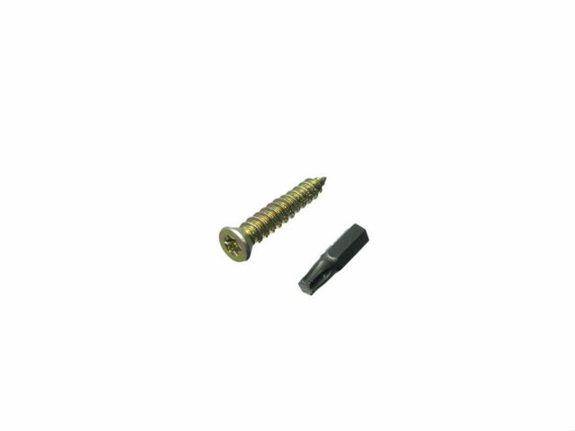 NEW PACK 500 Concrete Frame Screws And Caps 7.5 X 102Mm With A Free Torx Bit