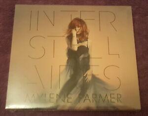Mylene-Farmer-Interstellaires-CD-Edition-limitee-Numerote-calendrier-Ukraine-neu