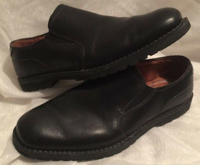 Men's Pre-owned Florsheim  Shelby  Black dress shoes - Size 8.5