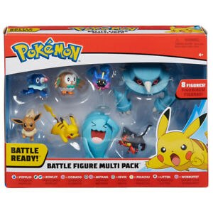 Pack multiple de Pokémon 8 Battle Figure - 96302 Nouveau 889933963022