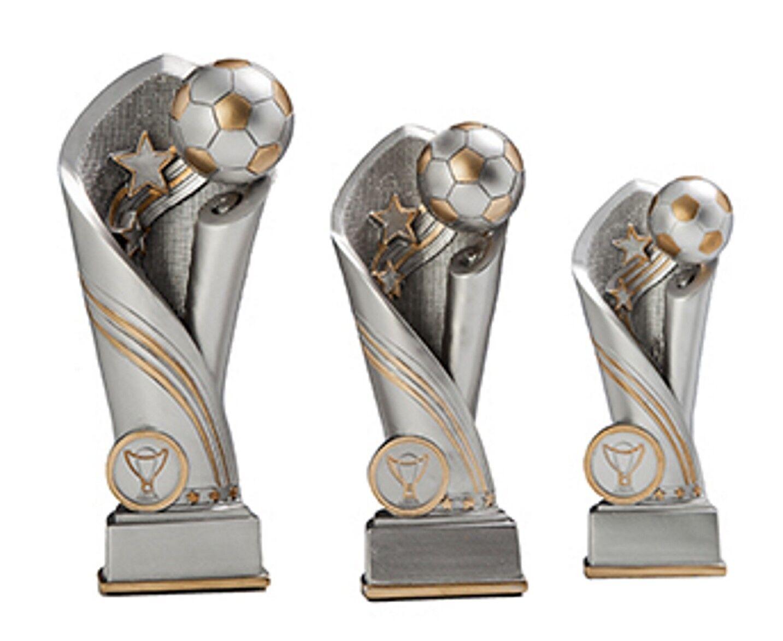 3er Serie massive massive massive Fussball-Pokale ST39478 (H=20-15 cm) mit Gravur 34,95 EUR ec766e