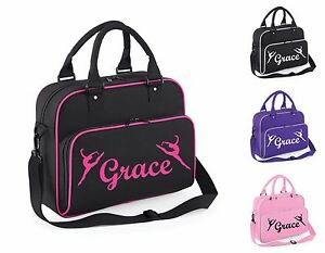 Image Is Loading Personalised Dance Bag Ballet Gym Sholder