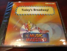 MUSIC MAESTRO KARAOKE 6282 TODAY'S BROADWAY CD+G OOP SEALED