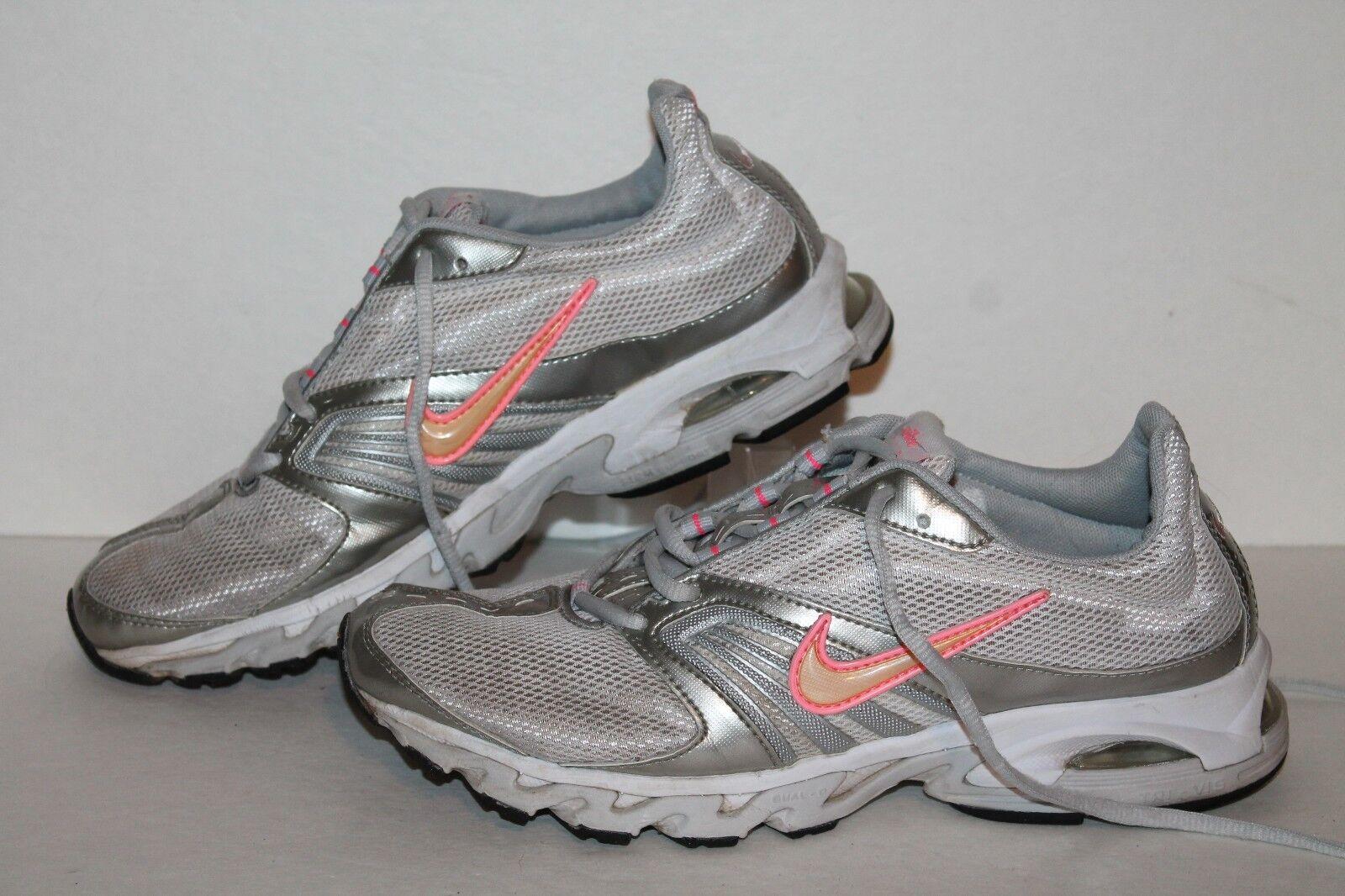 nike air tri des chaussures de course, course, course, slvr / rose / peach,  s nous taille 9 c6f1c9