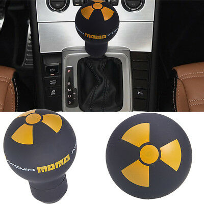 Universal Ball Shift Knob Adapter Car Auto Gear Shifter Lever Round Shape Yellow