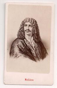 Vintage-CDV-Jean-Baptiste-Poquelin-Moliere-French-playwright-E-Neurdein-Photo