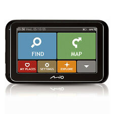 "Mio Spirit 4800 4.3"" Full Europe 44 Country Mapping Tomtom IQ Routes GPS Sat Nav"