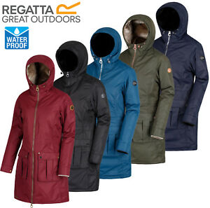 3368aba8024 Image is loading Regatta-Womens-Romina-Jacket-Waterproof -amp-Breathable-Ladies-