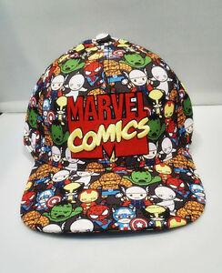 25e8a82ab Details about Marvel Comics The Avengers Adjustable Baseball Cap Hip Hop  Snapback Hat Gift