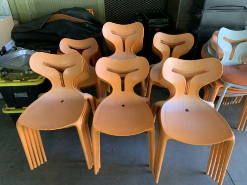 Mid Century Modern chair CALLIGARIS Area 51 stackable By connubia QUANTITY