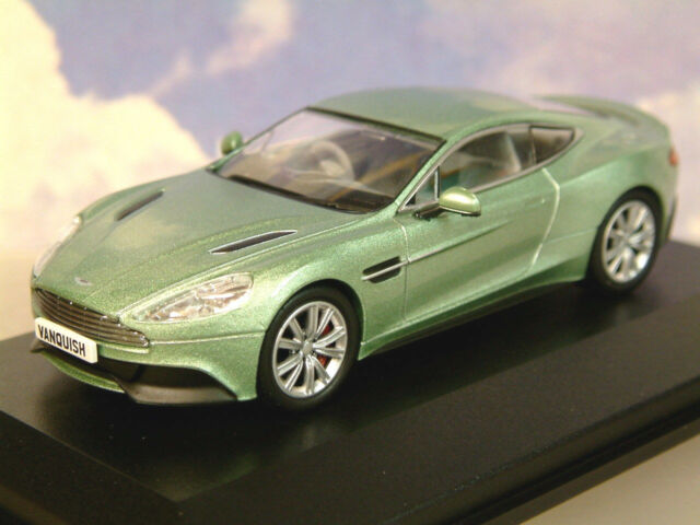 Oxford Diecast 1 43 2012 Aston Martin Vanquish Coupe In Appletree