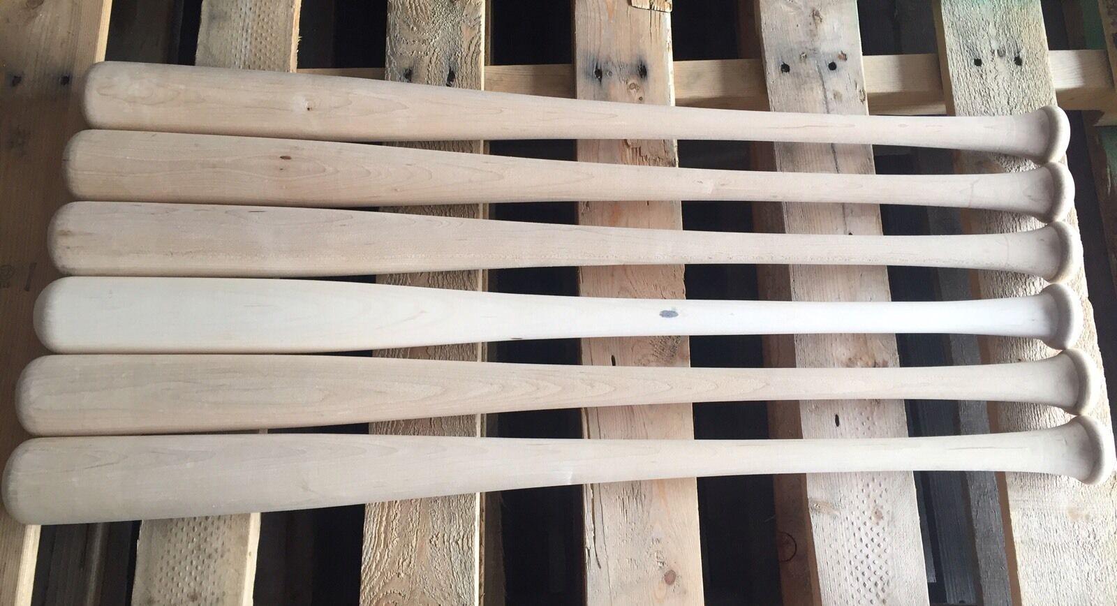 12  SHIPPING!) Baseball Wood Maple Blem Bats (FREE SHIPPING!)  14261c